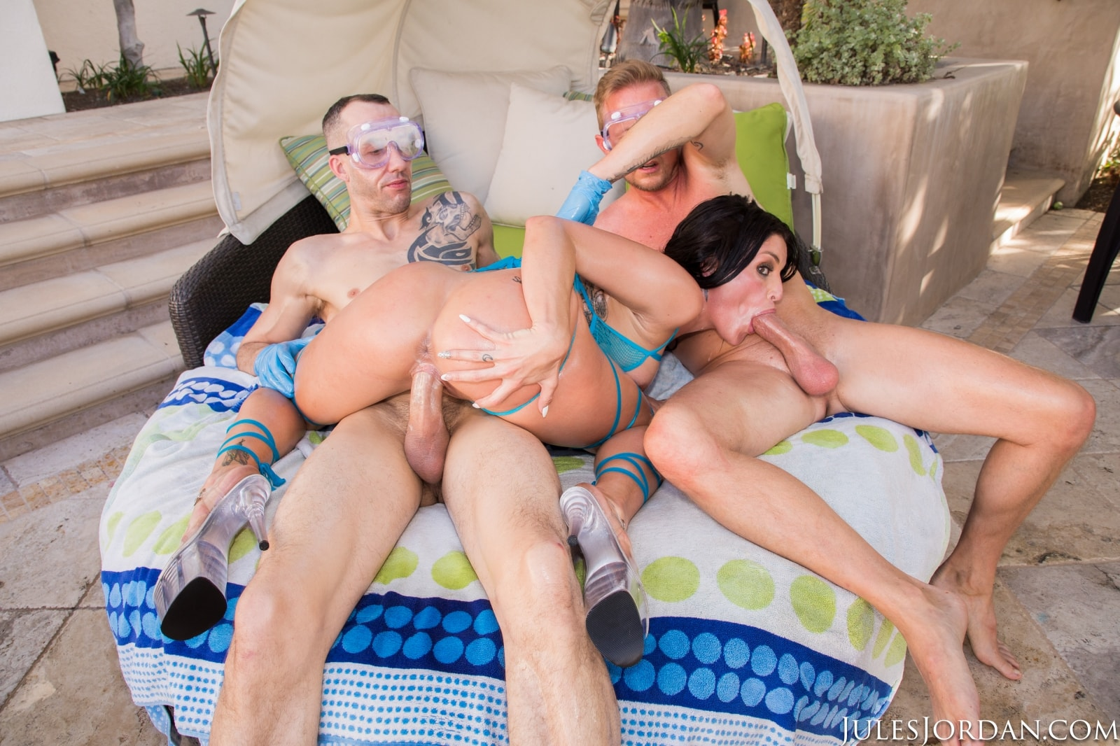 Kissa Sins - 1st Time With Two Cocks. Double Creampie! | Picture (63)