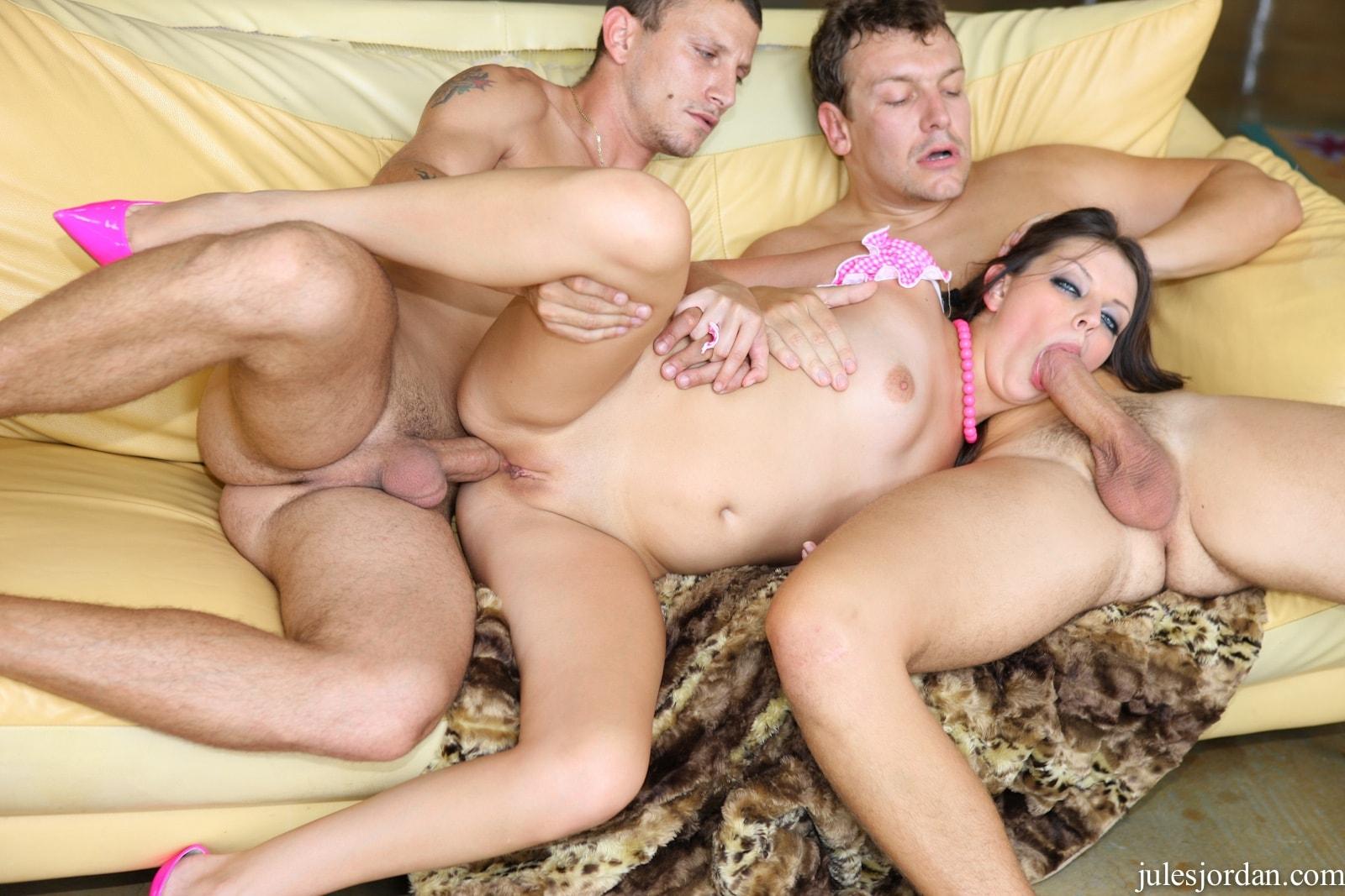 Busty Latina Anal Creampie