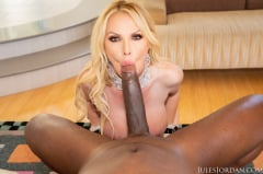 Nikki Benz - Big Boob French Maid Services Mandingo's Big Black Cock | Picture (14)